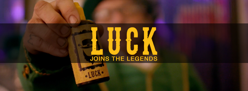 Luck Joins The Legends!
